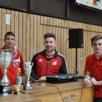 Danke an das Schiedsrichterteam Malte Abraham und Niklas Bardenhagen!
