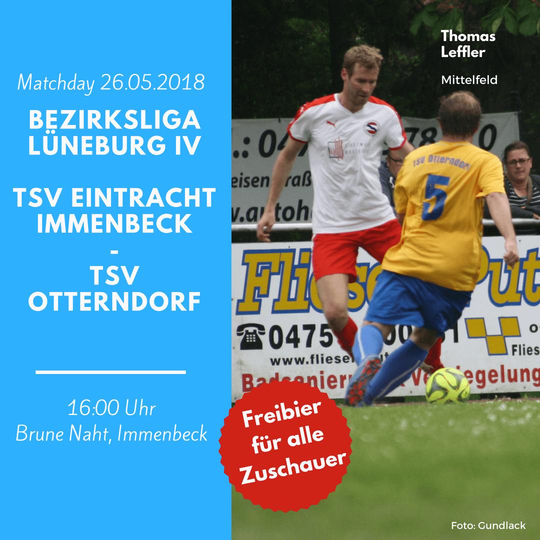 1. Herren: Saisonabschluss 2018 auf der Brune Naht gegen den TSV Otterndorf